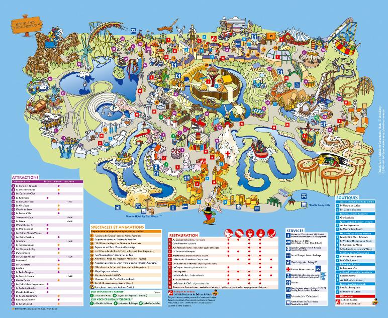 خريطة ديزني لاند باريس ويكي عربي